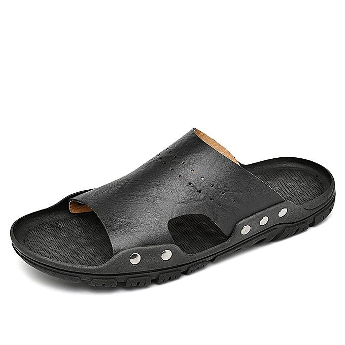 f7b7e31de Generic Men s Breathable Beach Slippers Massage Casual Sandals ...