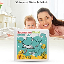 Waterproof Baby Water Bath Book Toy Swimming Bathroom Early Educational Toy For Kids