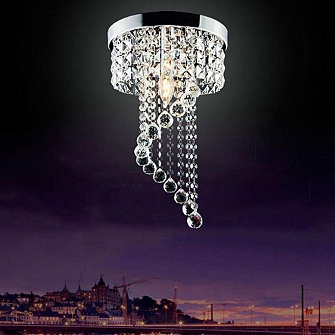 ... Modern LED Galaxy Spiral Crystal Chandelier Lamp Fixture Lighting Pendant Decor # 220V ...