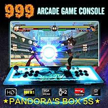 XGODY 999 in 1 Pandoras BOX 5S+ Home Acrade Console Dual Stick Bartop LED Light