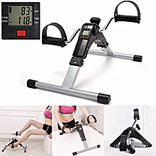 Digital Pedal Exerciser Arm/Leg Folding Mini Exercise Bike Mobility Aid