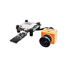 RunCam Split 2 FOV 130 Degree 1080P/60fps HD Recording Plus WDR FPV Camera NTSC/PAL Switchable-Orange