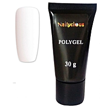 PolyGel For Nails Gum Gel For Nails Natural White Baby Boomer White 30g.
