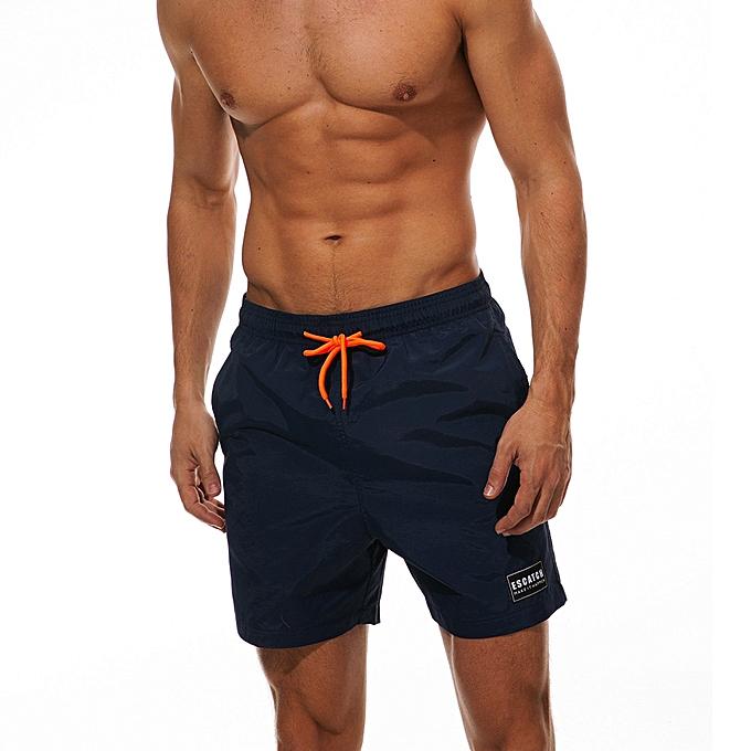 12cdbe51427 ... Generic Men s Swimwear Running Surfing Sports Plus Size Beach Shorts  Trunks Board Pants ...