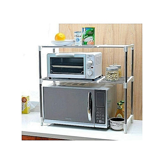Microwave Oven Stand Online: Generic Microwave Oven Stand Organizer @ Best Price Online