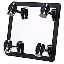 3W 4 Bulb Bathroom LED Mirror Front Lamp - Black