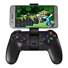 HonTai GameSir T1s Enhanced Edition Wireless/Wired Gamepad Game Controller 2.4GHz Bluetooth 4.0 for iOS/Android/PC/PS3-Black