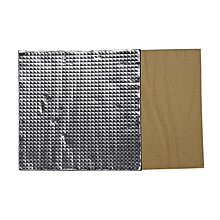 400x400x10mm Foil Self-adhesive Heat Insulation Cotton For 3D Printer CR-10S Heated Bed