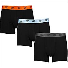 Trunks 3-Pack Black (Colours Vary)