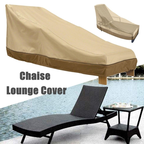 Generic Waterproof Outdoor Chaise Lounge Chair Cover Patio Furniture Protection & Generic Waterproof Outdoor Chaise Lounge Chair Cover Patio Furniture ...