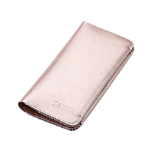 5.5 inch Dual Mobile Phones Crazy Horse Pattern Microfiber Leather Case, with Wallet & Card Slot