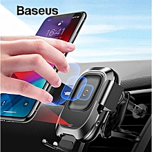Baseus Smart Sensing Fast Qi Wireless Charger Intelligent Infrared Sensor Car Holder Charging For Iphone 8 X Xs Max Xr Samsung Galaxy S8 S9 Car Mount Stand () LJMALL