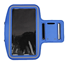 Premium Running Jogging Sports GYM Armband Case Cover Holder for iPhone 6 Plus dark blue