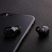 Hiamok_Mini TWS Twins Wireless Bluetooth Stereo Headset In-Ear Earphones Earbuds BK