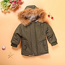 Comfortable  Boy Hats Keeping Warm And Lovely Coat Children's Cotton Clothes