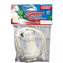Ultra Instant Hot Water Shower - Designed For Fresh Water / Salty water - White
