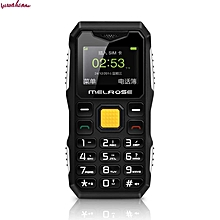 MELROSE S10 1.0 Inch 450mAh Bluetooth Smallest MP3 Music Phone Shockproof Feature Phone Black