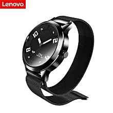 Lenovo Watch X 8ATM Waterproof Bluetooth 5.0 Sapphire Glass Smart Watch Support  Heart Rate Monitor For Android IOS - Black