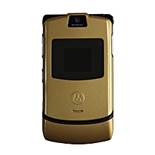 Motorola RAZR V3 Feature Phone - Gold