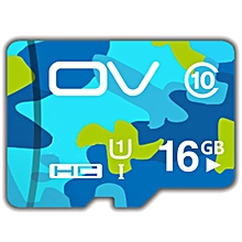 OV 16GB Camouflage Class 10 High Speed Storage Card Flash Memory Card TF Card
