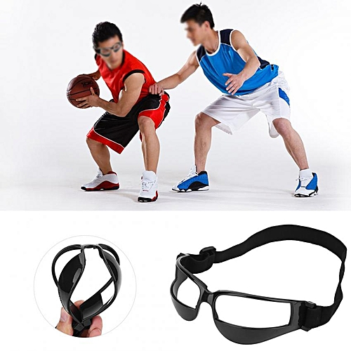 898fbbc589e0 Generic Practical Basketball Head-up Training Glasses Dribbling Goggles  Sport Accessory(Black)