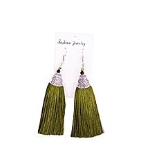 Tassel silk Earrings