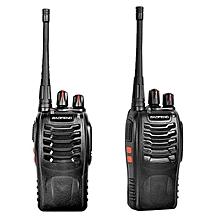 LEBAIQI  BaoFeng Walkie Talkie Malaysia BF 888S 3KM 16 Channel Radio UHF FM Transceiver
