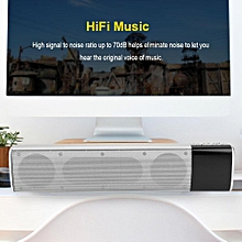 HiFi Surrounding Sound Bluetooth Soundbar FM Radio TF Music Soundbar with Subwoofer