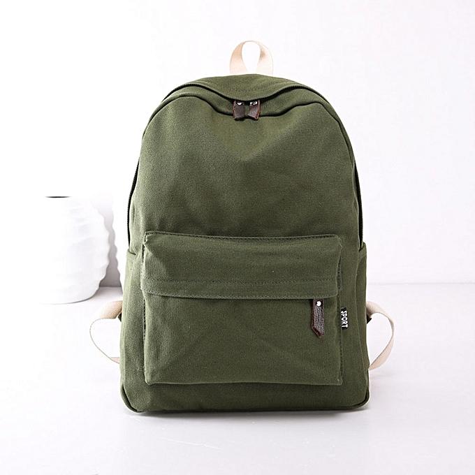 ... new high quality 17312 fe8ba Duanxinyv-Women Girls Canvas Preppy  Shoulder Bookbags School Travel Backpack ... d2e8caf00a