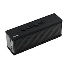Generic T100 Wireless bluetooth speaker -Black