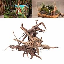 Natural Dead-Wood Branch Driftwood For Fish Tank Aquarium Decoration  Size:L