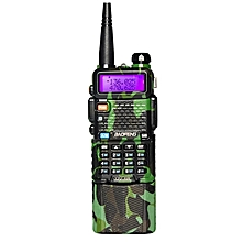 Upgrade BaoFeng UV-5R Camouflage Walkie Talkie VH/UHF Dual Band Two Way Radio Transceiver 3800mah EU