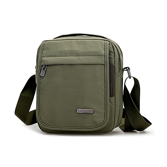 2766ed71fe59 Nylon Waterproof Leisure Travel Crossbody Bag Large Capacity Handbag  Shoulder Bag for Men