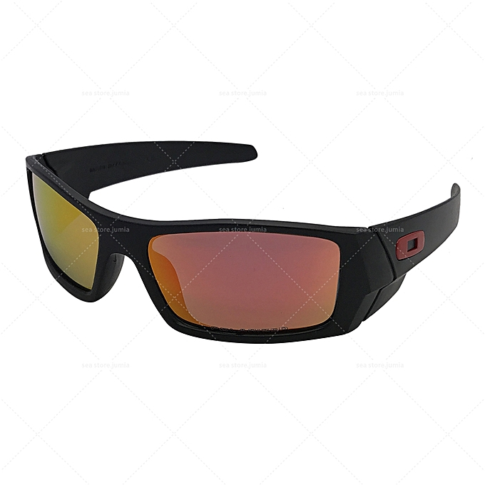 1d97048793 Oakley Gascan Polarized Sunglasses OO9014 - Black Frame Fire Lenses ...