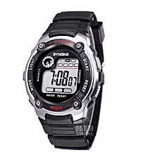 Kids Watches Children LED Digital Watch Girls Wrist Watch Boys Clock Child Sport Digital-watch For Girl Boy Surprise Gift(Silver)