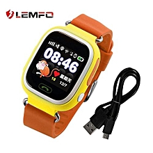LEMFO Q90 Children Smart Watch Students Kids SOS Call Remote Monitoring Long Standby Time Low Radiation Location Tracker