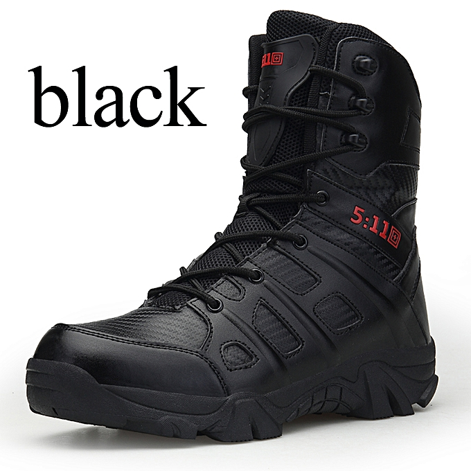 a3354cb624 Military Boots Tactical Boots Leather Desert Outdoor Combat Military Boots  Hiking Shoes Travel Male Hiking Boots