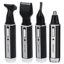 4 In 1 Rechargable Nose Trimmer Electric Shaver Beard Face Eyebrow Automatic Removal Shaver For Men