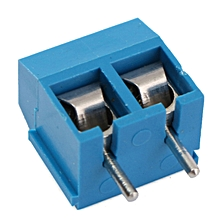 100pcs terminal block Connector 5.08mm Pitch Through Hole