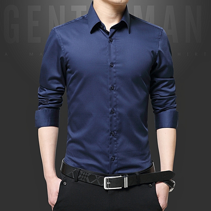 buy tauntte luxury cotton slim fit office formal shirts men business
