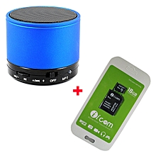 Extreme High Compatibility Memory Card - Micro SD - 16GB With Free Bluetooth speaker - Black