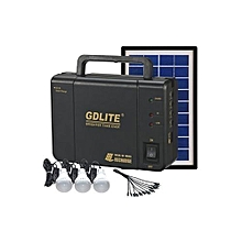 GD-LITE A Solar Lighting System – Black