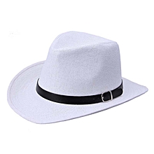 33f762921af Fashion Summer Men Straw Hat Cowboy Hat WH