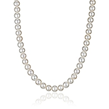Small Size Pearl Necklace with big beads
