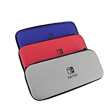 Hard Shell Bag Portable Travel Carry Protection Storage Pouch Anti Shock With NS Game Storage Slots Case For Switch - Grey