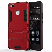"Case For Huawei P9Lite  Youth  Edition 5.2"" Inch Case Prime Lron Man Armor Series-(Red)"