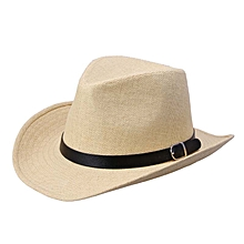 Summer Men Straw Hat Cowboy Hat LB