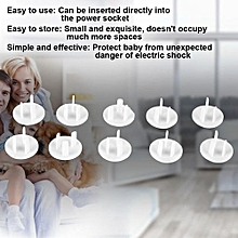 [Free Shipping]10PCS 3 Holes Safety Socket Outlet Protective Cover Insulation Protector For Home-use