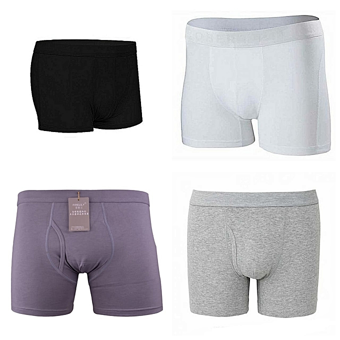 4 in 1 Quality Cotton Mens' Boxer Pants