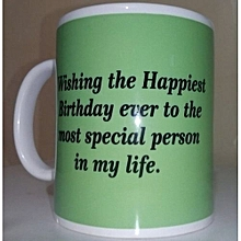 Birthday Gift Mug - 1 Piece - White